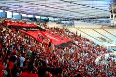 Maracana体育场在里约热内卢 库存图片