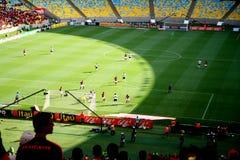 Maracana体育场在里约热内卢 免版税图库摄影