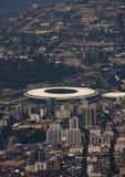 Maracana-stade in Rio de Janeiro Brazil stockfotos