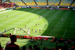 Maracana Stadion in Rio de Janeiro lizenzfreie stockfotografie