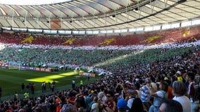 Maracana Stadium chirliderka fluminense zdjęcia royalty free