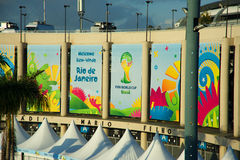 Maracana Stadium during the FIFA World Cup Stock Photo