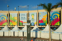 Maracana Stadium during the FIFA World Cup Stock Image