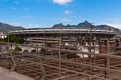 Maracana Stadium Stock Photo