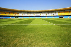 Maracana Stadium before reconstruction. Stock Image