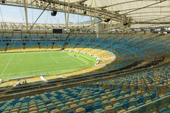 The Maracana Stadium in Rio de Janeiro Royalty Free Stock Photo