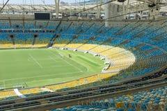 The Maracana Stadium in Rio de Janeiro Stock Image