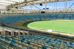 The Maracana Stadium in Rio de Janeiro Royalty Free Stock Photography