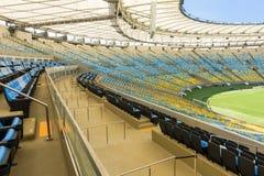 The Maracana Stadium in Rio de Janeiro. Royalty Free Stock Photos