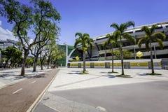 Maracana Stadium in Rio de Janeiro Royalty Free Stock Photo
