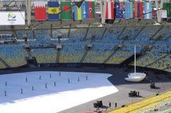Maracana Stadium in Rio de Janeiro Stock Photos