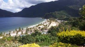Maracas beach trinidad Stock Photo