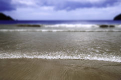 Maracas Beach in Trinidad and Tobago selective focus Royalty Free Stock Photos