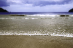 Maracas Beach in Trinidad and Tobago - With selective focus Stock Photo