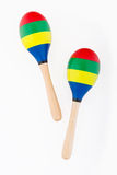 Maracas d'enfants photo stock