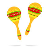 Maracas icon Royalty Free Stock Photos