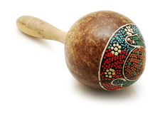 Maracas isolated Stock Photography