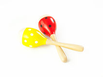Maracas music percussion Stock Photos