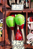 Maracas for sale Stock Photos