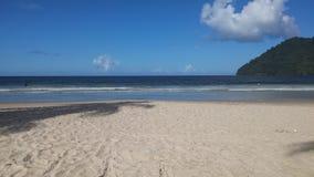 Maracas strand Trinidad Arkivfoton