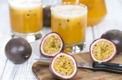 Maracuja Juice Royalty Free Stock Photo