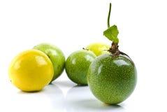 Maracuja - passiflore comestible de passiflore Images stock