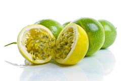 Maracuja - Passion Fruit Stock Photo