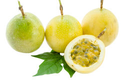 Maracuja, passion fruit. Royalty Free Stock Images