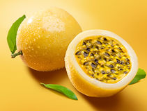 Maracuja, passion-fruit Royalty Free Stock Photo