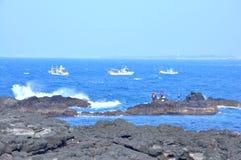 Ilha de Mara na Coreia do Sul a mais southernmost Imagens de Stock Royalty Free