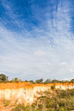 Marafa峡谷-肯尼亚 免版税库存图片
