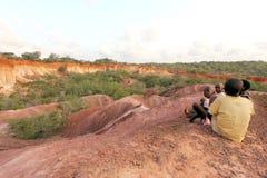 marafa Кении стоковое фото