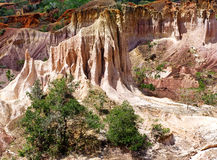 Кухня ада, каньон Marafa, Кения Стоковое Изображение RF