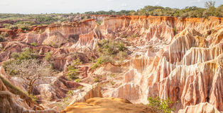 Marafa Canyon - Kenya Royalty Free Stock Images