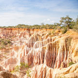 Marafa Canyon - Kenya Royalty Free Stock Photos