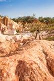 Marafa Canyon - Kenya Stock Image