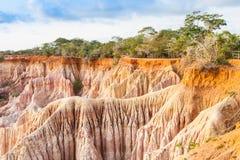 Marafa kanjon - Kenya Royaltyfria Foton