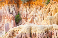 Marafa kanjon - Kenya Royaltyfri Foto