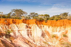Marafa kanjon - Kenya Arkivfoto