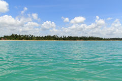 Maragogi from water, Alagoas - Brazil Stock Photo