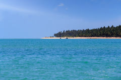 Maragogi from water - Alagoas, Brazil. Royalty Free Stock Images