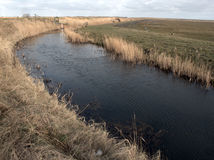 Marais de Cley, Norfolk du nord images stock