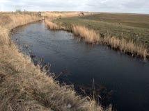 Marais de Cley, Norfolk du nord Images stock