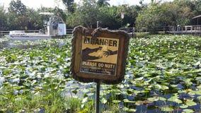 Marais parc national, Miami florida Images libres de droits
