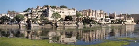 maraja宫殿udaipur 免版税库存照片