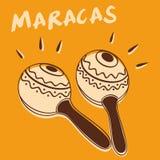 marakasy zdjęcie royalty free