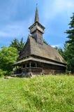 Maramures, ορόσημο - ξύλινη εκκλησία στοκ εικόνα