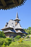 Maramures architecture, Barsana Monastery Royalty Free Stock Photography