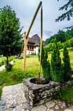 Maramures landmark - Barsana complex Royalty Free Stock Photo