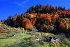 Maramures Landschaft stockfotografie